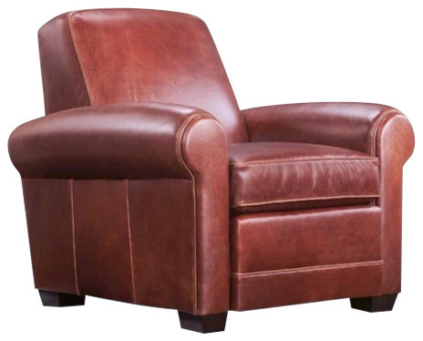 Exeter Leather Armchair, Brown