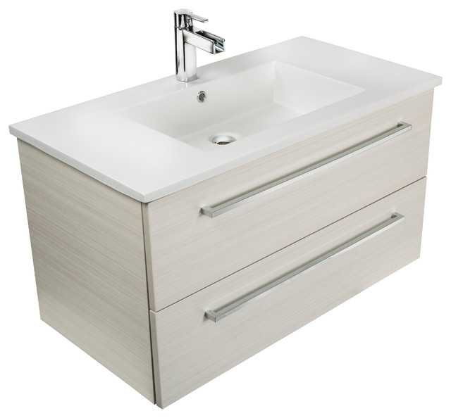 Shop Houzz Cutler Kitchen Bath White Chocolate 30 39 39 Modern Wa