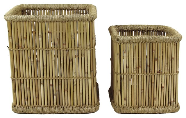 Colonial Nesting Baskets, Set of 2
