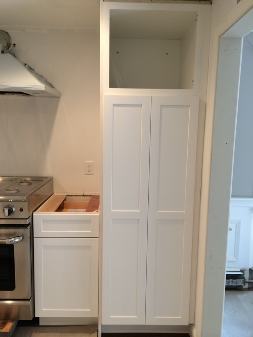 Kitchen Hardware Placement On Pantry