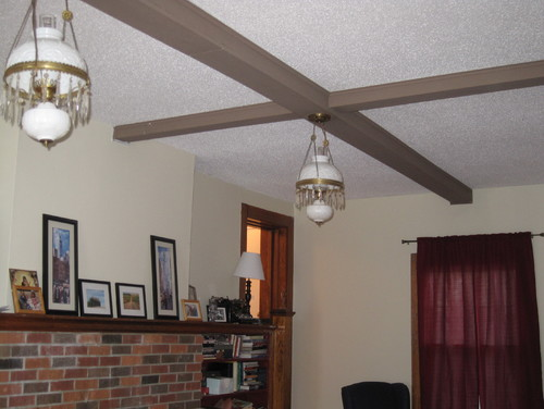What Color Should I Paint My Ceiling what color should we paint these beams to go with wood trim?