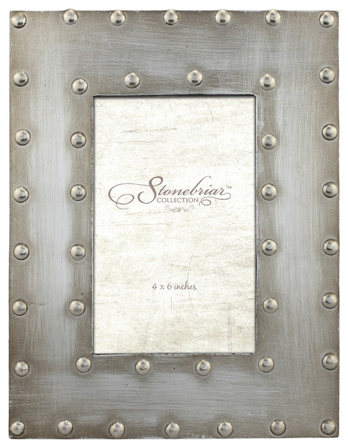 Metal Wrapped Frame With Rivet Detail - Industrial - Picture Frames ...
