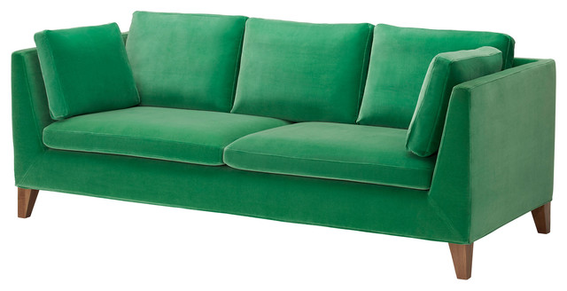 Stockholm Sofa Sandbacka Green Contemporary Sofas By Ikea