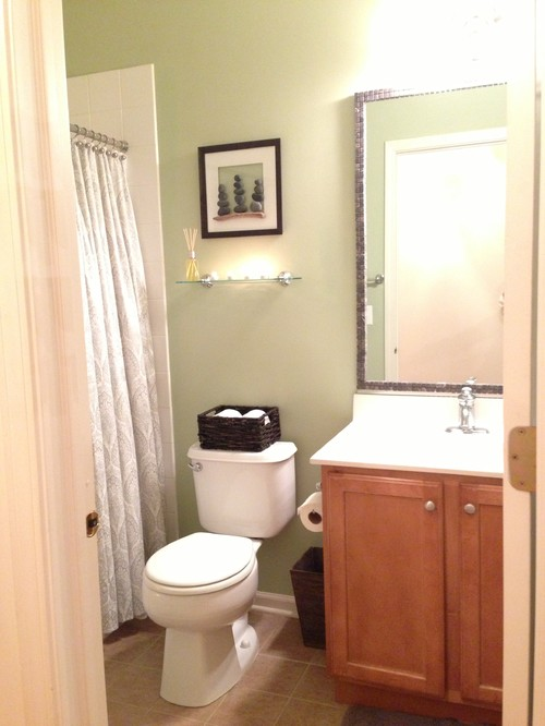 very small bathroom makeovers bathroom makeover on small budget 21197