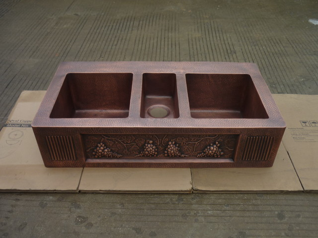 custom made kitchen sinks custom made copper kitchen sink with bowls 6401