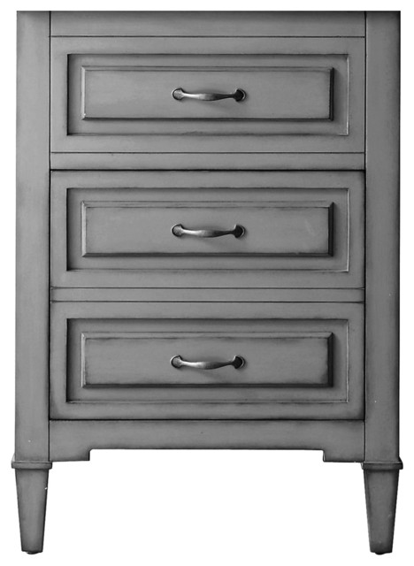 24 vanity with sink. avanity kelly vanity only in grayish blue finish, 24\ 24 with sink