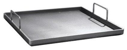 "Removeable Griddle Plate With Handles, 12""."