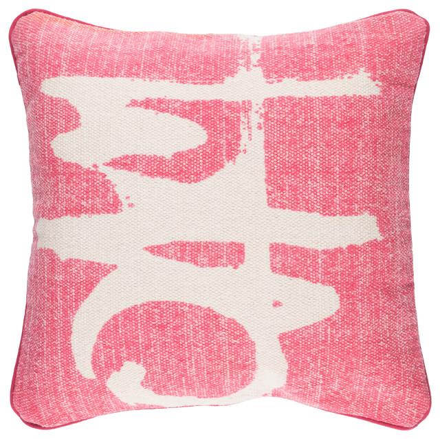 Bristle Pillow 20x20x5, Down Fill.