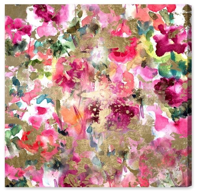 """Wilderness"" Canvas Print, 110x110 cm"