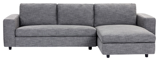 Ethan Sofa Chaise Midcentury Sectional Sofas By