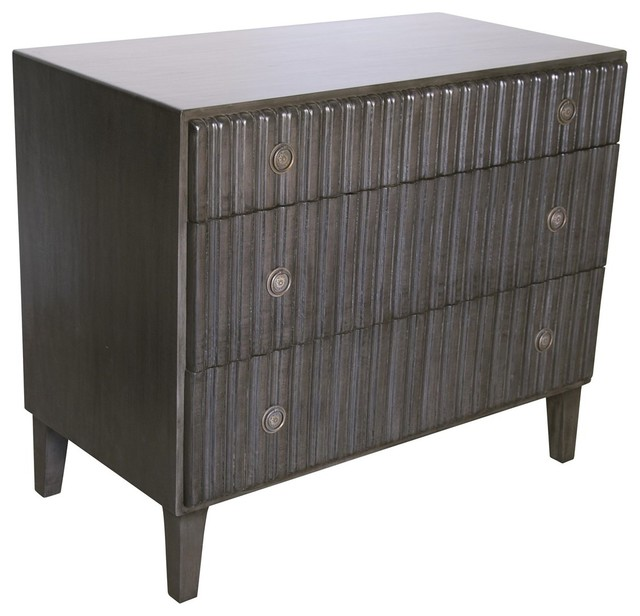 Noir Furniture Daryl Dresser Contemporary Dressers