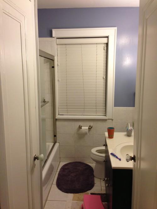 Bathroom Window Solutions bathroom window encroaching in tub space - remodeling challenge