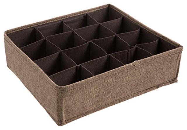 Socks Tie Bra Storage Box/underwear Organizer Divider Storage Box