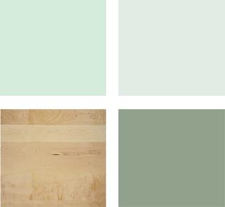 Dormitorios en verde estudio y dise o - Colores verdes para paredes ...