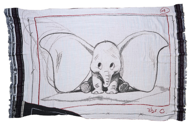 Pink Dumbo Baby Blanket Contemporary Throws By Room