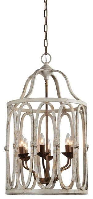 Natalie 6 Light Chandelier Farmhouse Chandeliers By Out Of The