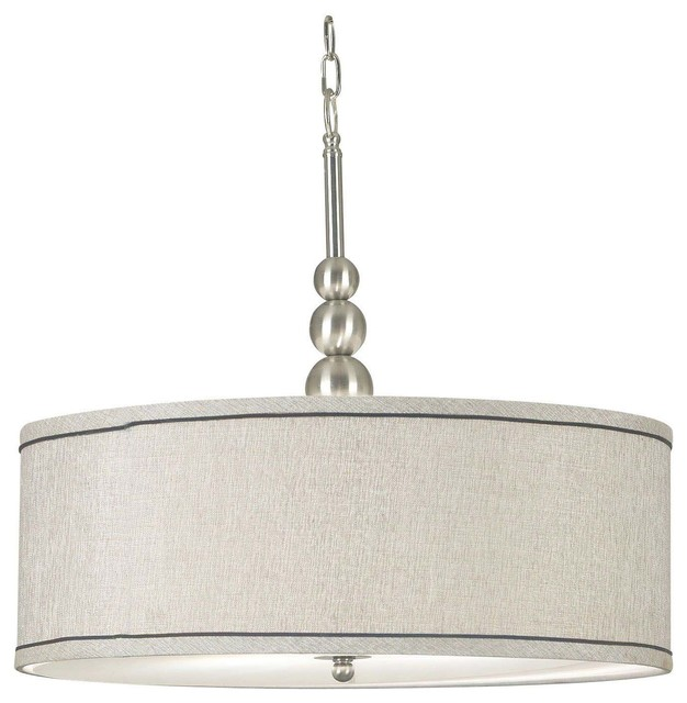Margot 3 light pendant brushed steel transitional pendant margot 3 light pendant brushed steel brushed steel transitional pendant lighting mozeypictures Image collections