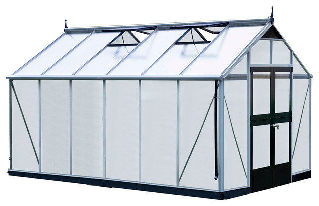 "Juliana Premium Greenhouse, 9&x27;8""wx14&x27;4""l."