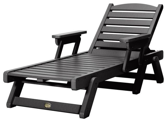Fabulous Pawleys Island Durawood Chaise Lounge Black Lamtechconsult Wood Chair Design Ideas Lamtechconsultcom