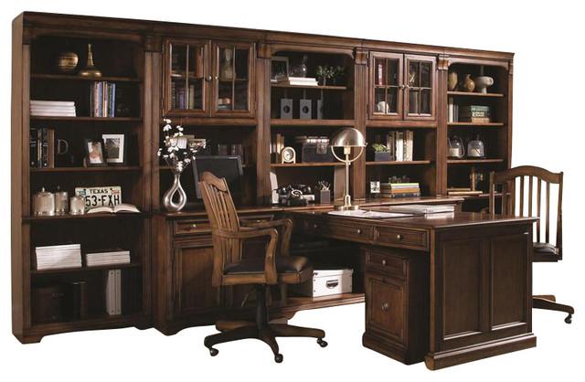 Beau Hooker Furniture Brookhaven Tall Bookcase