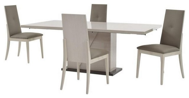 ALF Mont Blanc 5 PC Dining Set Contemporary Dining Sets