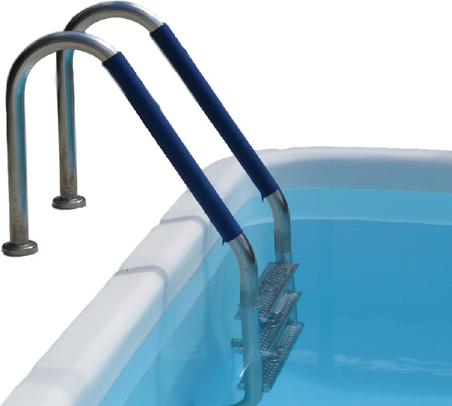 """Pool Handrail Cover By Secure-Grip 44.5"""", Royal Blue."""