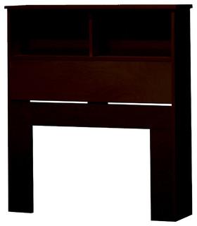 Bookcase Headboard, Espresso