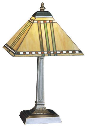 Prairie Corn Accent Lamp Craftsman Table Lamps