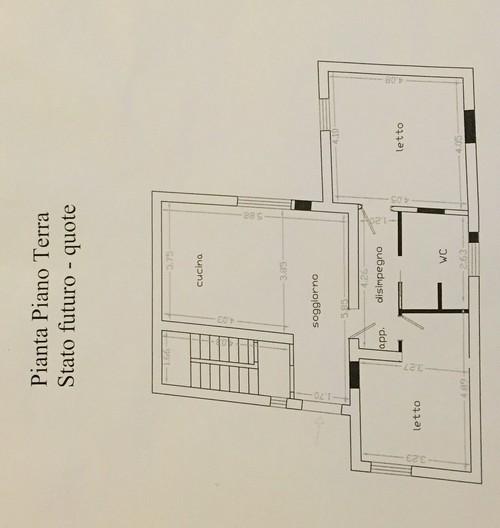 Disposizione cucina soggiorno for Disposizione mobili soggiorno