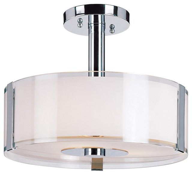 Trans Globe 2091 Pc 5 Light Semi Flush Mount