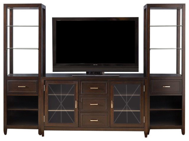 Liberty Furniture Caroline Entertainment Center With Piers