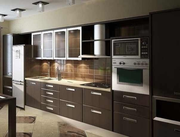 Aluminum Frame + Metal +Cabinet Doors +Glass contemporary-kitchen