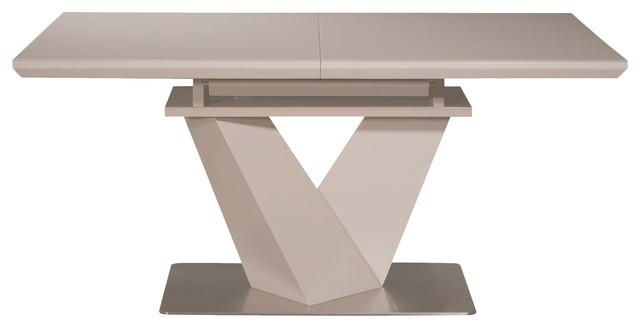 Nikole Gl Top Extendable Dining Table