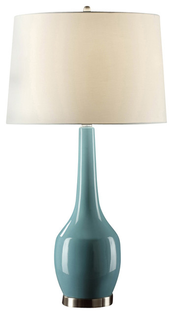crestview collection cvap1344c nina blue table lamp tablelamps