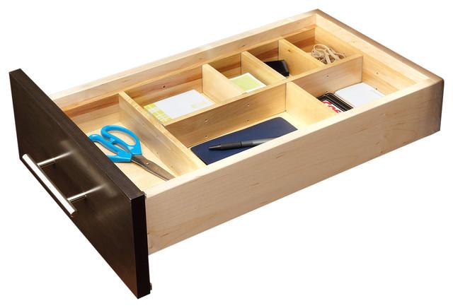 small adjustable wood drawer organizer kit transitional kitchen drawer  organizers rev a shelf   small adjustable wood drawer organizer kit  u0026 reviews      rh   houzz com