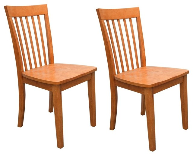 heavy duty solid wood dining room kitchen side chairs maple set of 2 dining chairs by. Black Bedroom Furniture Sets. Home Design Ideas