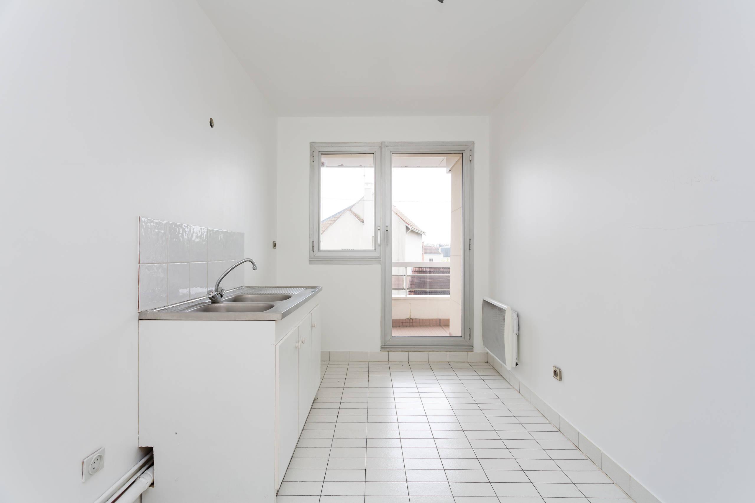 Rénovation d'un appartement avec cuisine ouverte