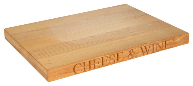 Culinary Concepts Cheese Wine Beechwood Cutting Board