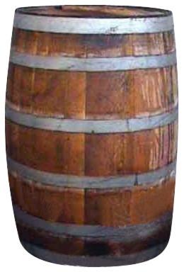 "Rain Barrel 27""x35"""