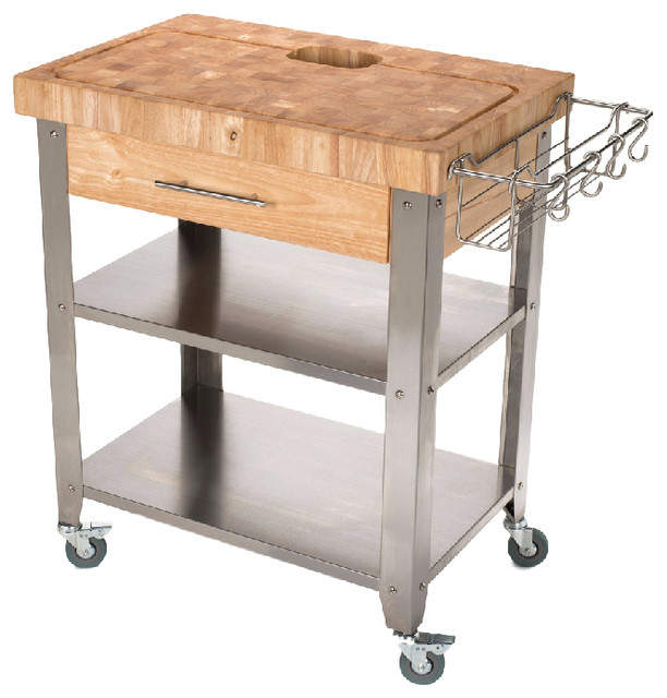 Lovely Contemporary Kitchen Islands And Kitchen Carts by Chris u Chris
