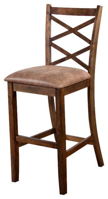 Sunny Designs Savannah Barstool With Cushion Seat