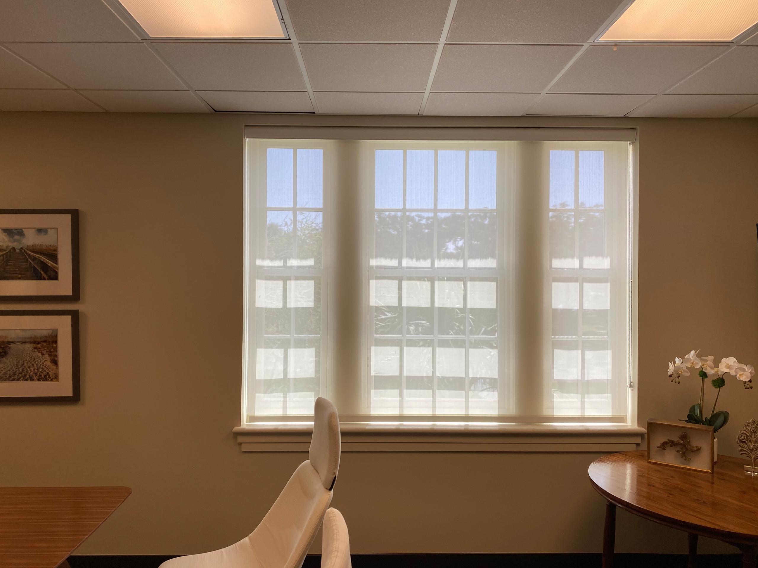 Office Room Sun Shades