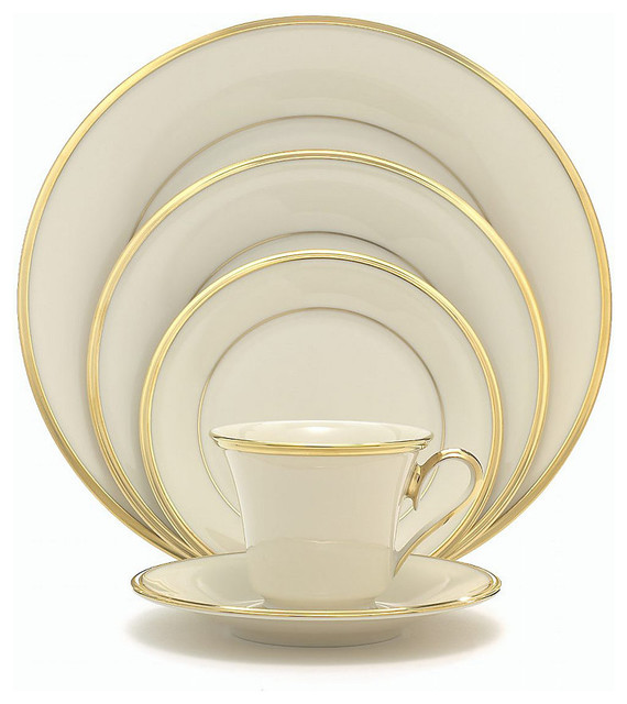 Lenox Eternal 60Pc China Set Service for 12  : contemporary dinnerware sets from www.houzz.com size 570 x 640 jpeg 68kB