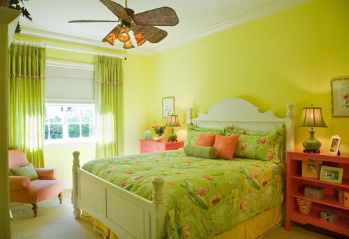Dormitorios en verde estudio y dise o for Dormitorio anos 70