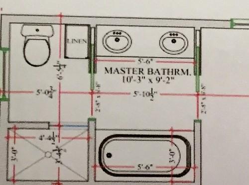 "Master Bathroom Enclosed Toilet toilet room"" in the master bathroom - good or bad idea??"