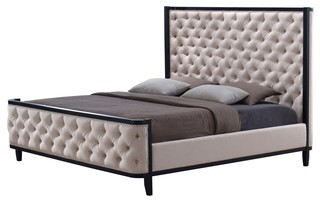 Hyde Tufted Bed, King