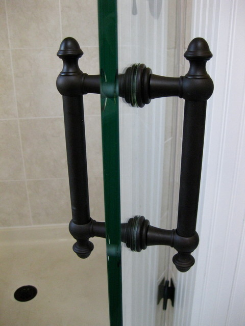 Oil Rubbed Bronze Glass Shower Door Handles