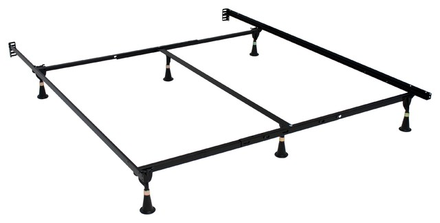 Atlas-Lock Keyhole Glides Bed Frame, Queen/king/cal King.