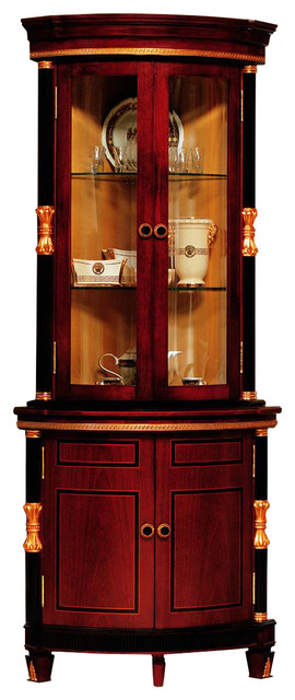 Varro Corner Cabinet - Traditional - China Cabinets And Hutches - by Infinity Furniture