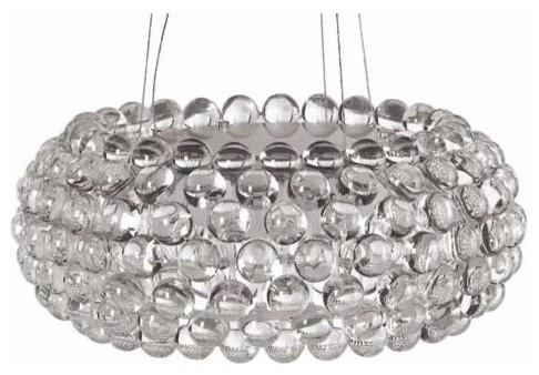 Bulle clear acrylic pendant light small aloadofball Images